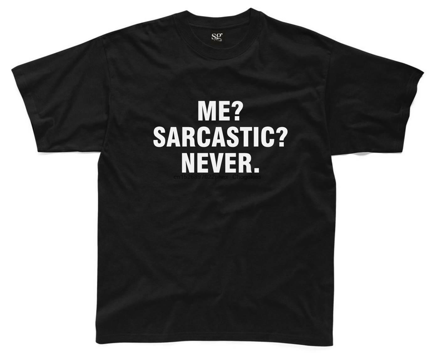Camiseta sarcástica S-3XL sarcasmo engraçado impresso piada slogan topo
