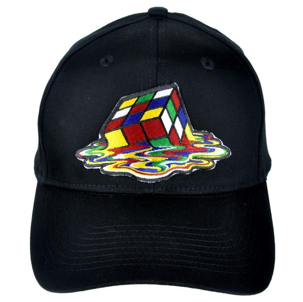 Gorra de béisbol con cubo de Rubik impreso