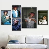 hip hop music star new lil uzi vert quality canvas painting poster bar bedroom living room sofa wall art home decor picture