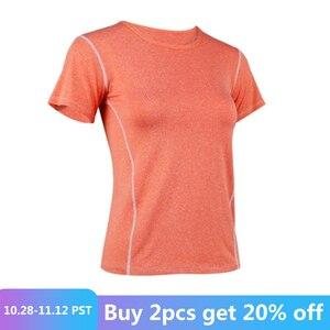 Women Yoga Top Seamless Sport Running T Shirts Quick dry Fitness Clothes Short Sleeve Shirt Gym Top Running Active Wear Femme