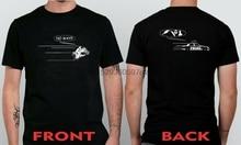 Motorcycle Chase T Shirt Funny biker vs Police ninza R1 R6 XX Bike  ( S - 5XL )