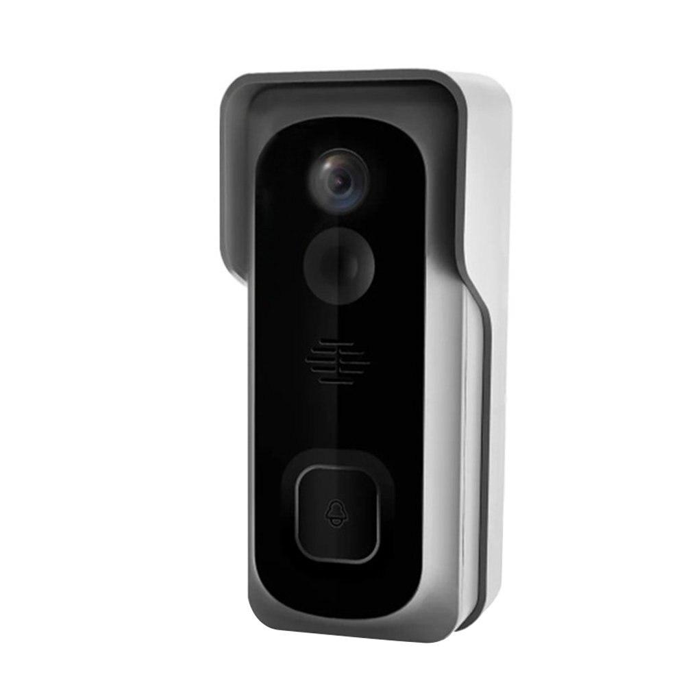 Wireless WiFi Doorbell Freely Paste Video Doorbell Video Call Infrared  Angle Low-power Doorbell