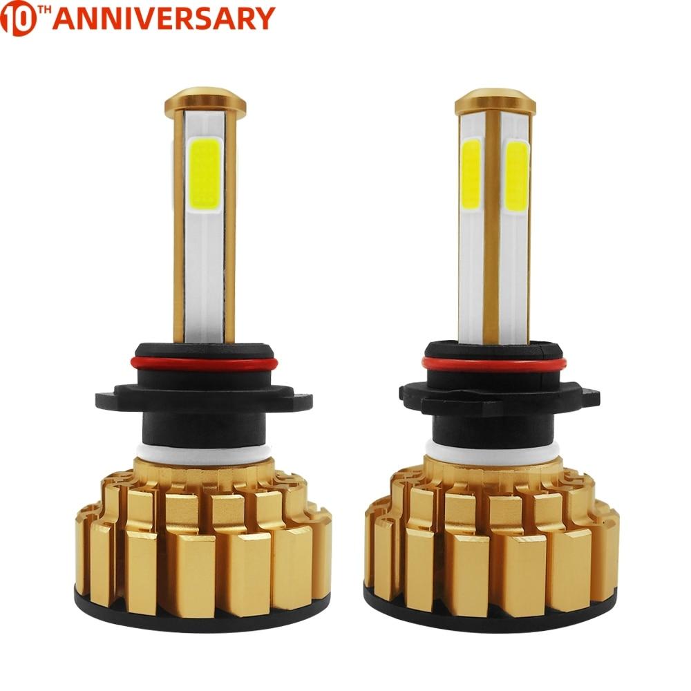 G7 2 unids/set de h7 bombilla-led 12v 80w 8000LM COB lámpara led en chip/9005/HB3 9006/HB4 led faro H4/9003/HB2 Hi/Lo H11 las luces del coche