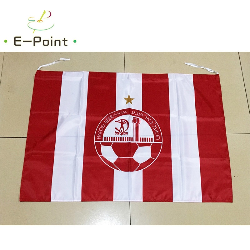 Israel Hapoel Beer Sheva FC 95cm*65cm FC Size Christmas Decorations for Home Flag Banner Gifts