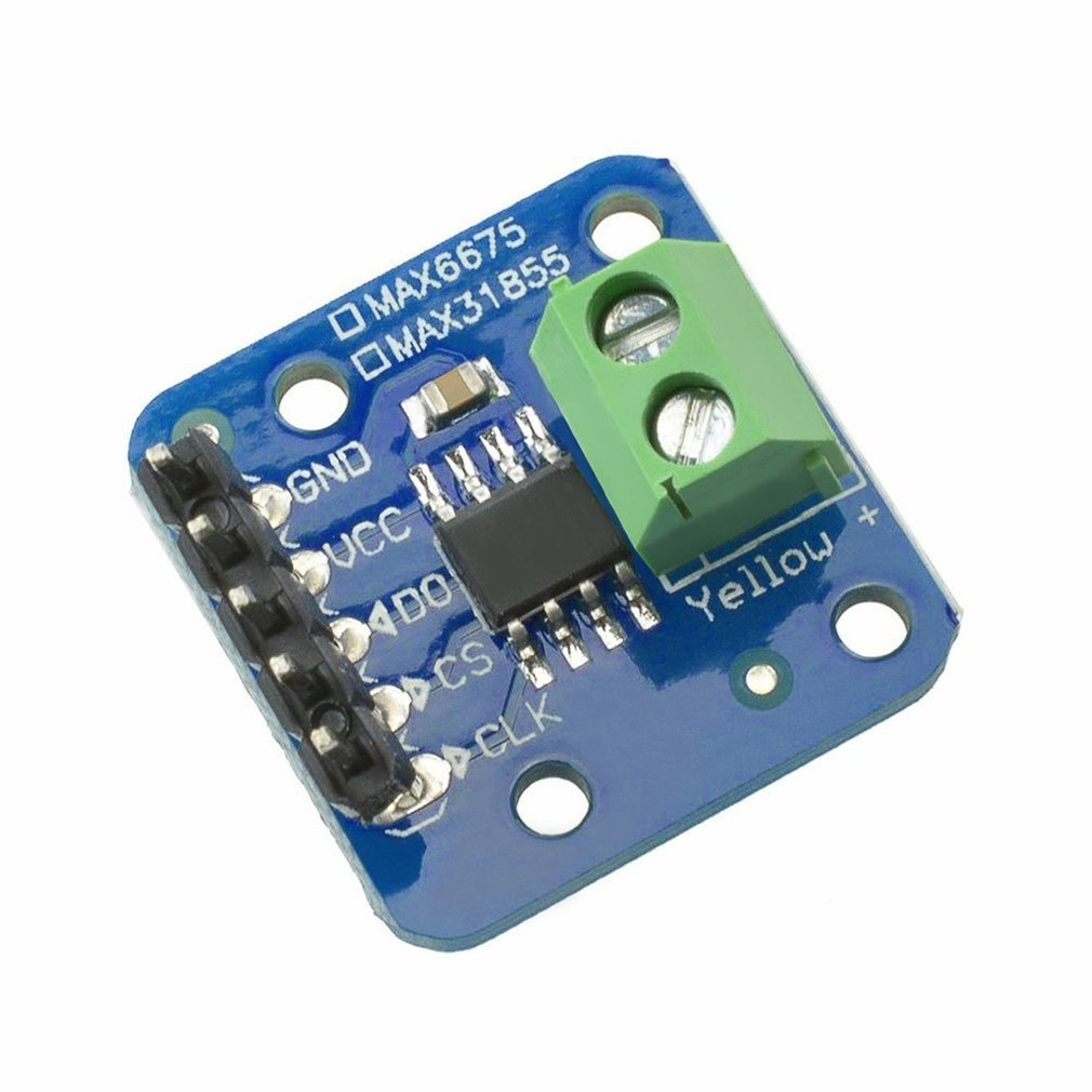 Placa de interrupción para termopar MAX31855 K, Módulo Sensor de temperatura para Arduino -200 ℃ A + 1350 ℃ Out L