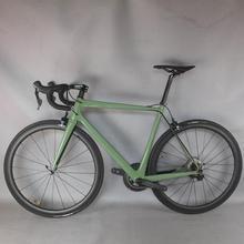 2021 personnalisé peinture vélo carbone vélo de route complet vélo carbone cyclisme vélo de route avec Shi R8000 22 groupe de vitesse