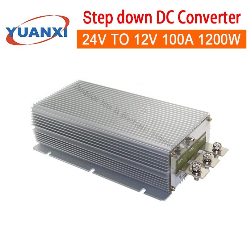1200W Step-down il convertitore DC 24V A 12V 100A 1200W dc dc converter
