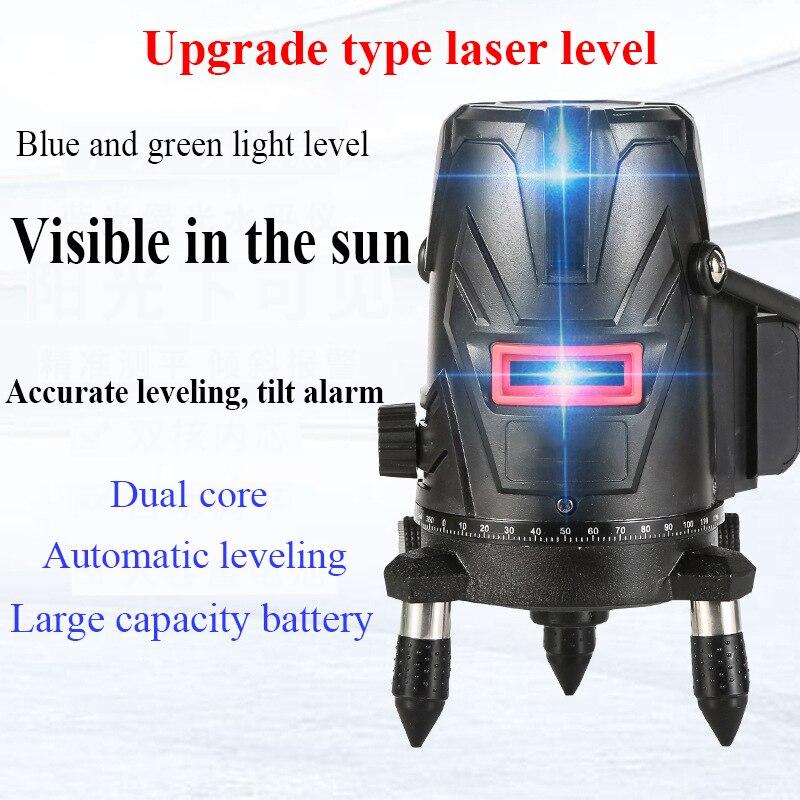 وحدة تسوية ليزر ثلاثية الأبعاد ، 5 خطوط ، دليل ليزر 4d ، تسوية ذاتية ، خطوط عرضية أفقية ورأسية