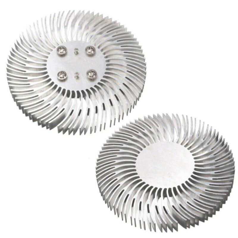 Круглый светодиодный радиатор алюминиевый 10 Вт радиатор радиатора для бытовой Лампы радиатор сменный