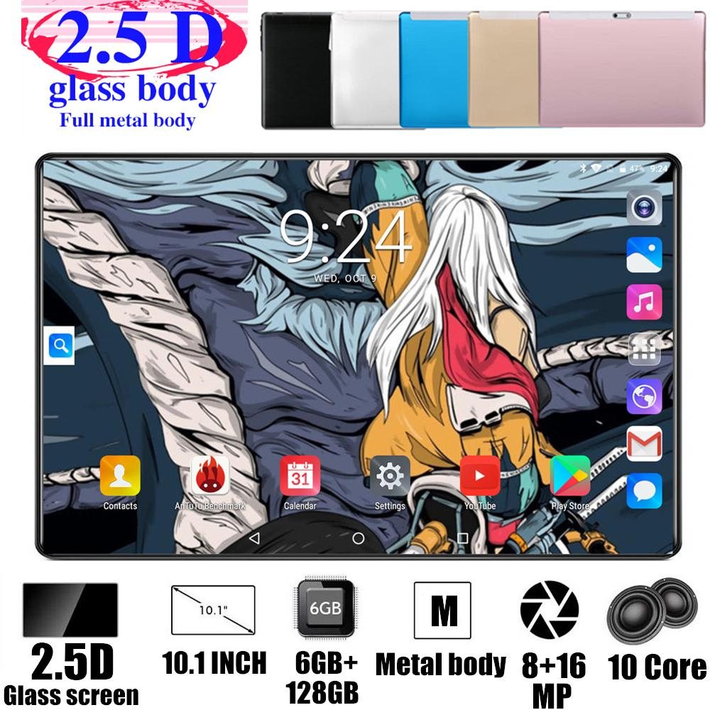 Tabletas Android 4G FDD LTE, 2020, envío gratis, 128GB ROM de Pie 6GB RAM Android 9,0, Octa Core, 5G, Wifi, GPS, tableta de 10 pulgadas