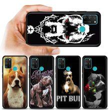 Pit Bull belle chien Pitbull étui de téléphone pour Huawei Honor 9A 9S 9C 9X Lite 8A Prime 8X 10 10i 20 Lite 30 Pro 20S 20e couverture souple