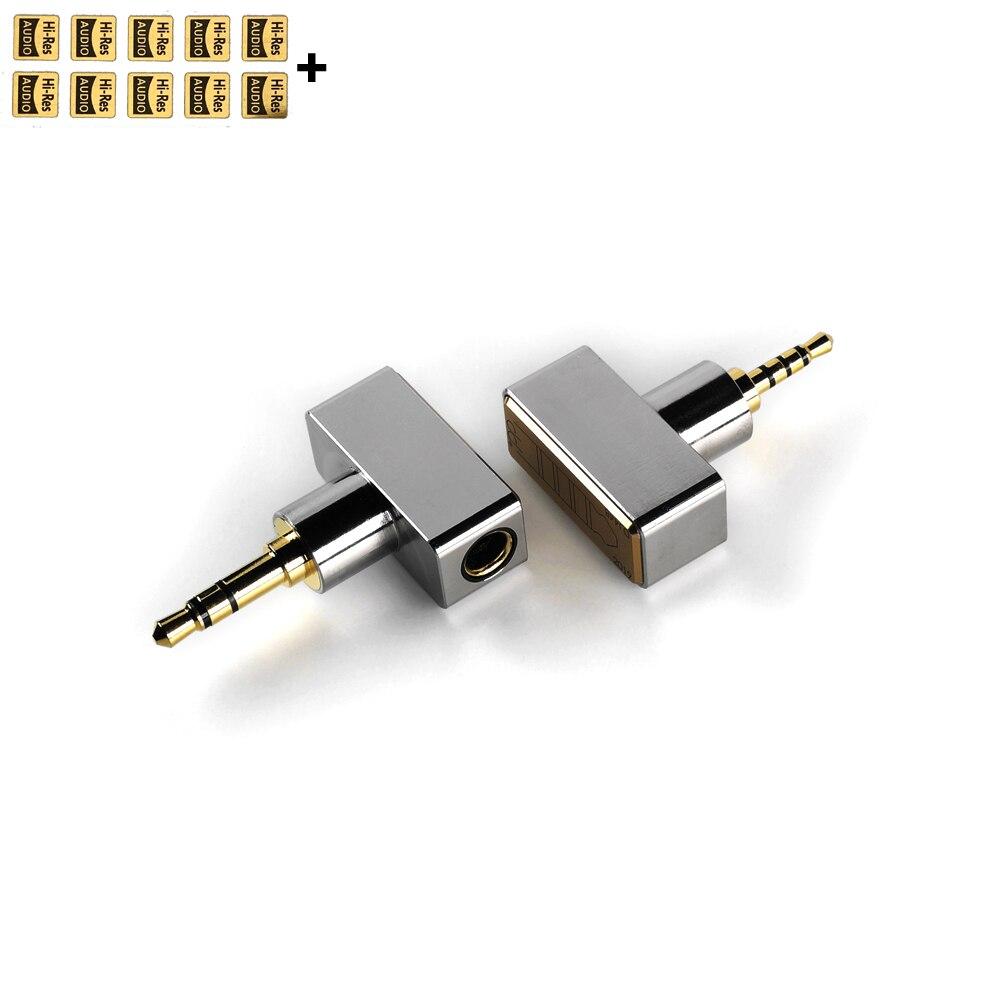 DD ddHiFi DJ44B DJ44C adaptador equilibrado 4,4 para Cable de auriculares de...