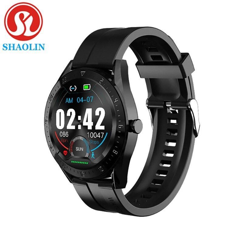 Smart Watch 2021 Men Bluetooth Call Message Function IP67 Waterproof Women Heart Rate Music Play Watch