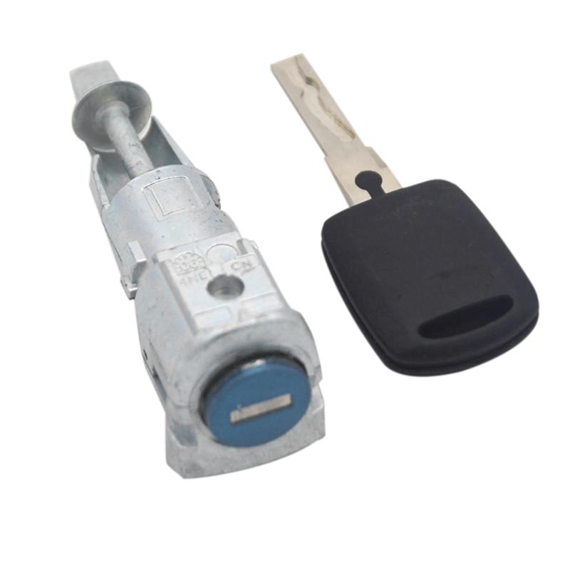 Car Left Driver Car Door Lock Start Switch Door Ignition Lock for Skoda Octavia 2005-2008 1Z0837167C 6Y0898167E