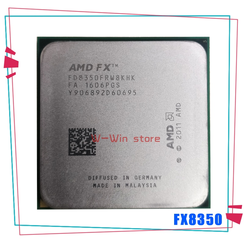 AMD FX-Series FX-8350 FX 8350 4.0G Eight-Core CPU Processor 125W FD8350FRW8KHK Socket AM3+