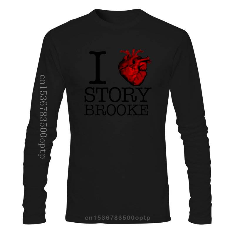 New I Love Storybrooke T-shirt Once Upon A Time Tee Summer Short Sleeves Cotton T Shirt Fashion Black Style Top Tee