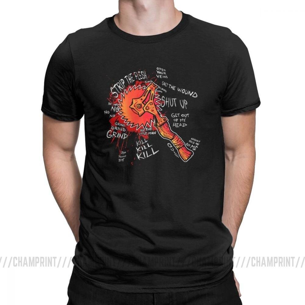 Camiseta Borderlands 2 Buzz Axe Rampage para hombre, ropa de algodón 100% 2019, camisetas de moda de manga corta, camisetas con cuello redondo de talla grande