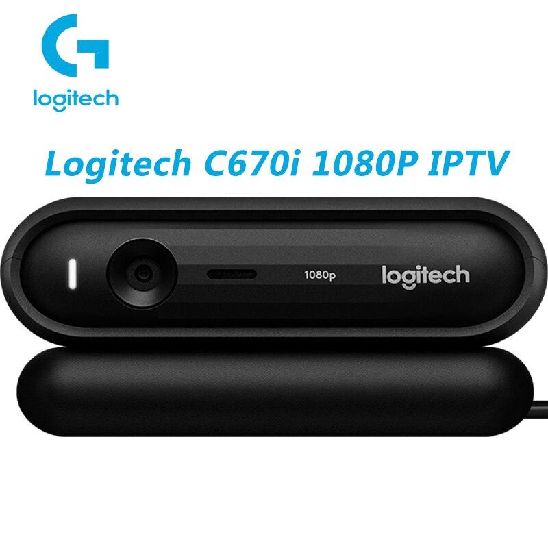 Logitech Webcam C670i Online Teaching HD 1080p Beautification Teleconference Meeting Wide-angle camera Webcam