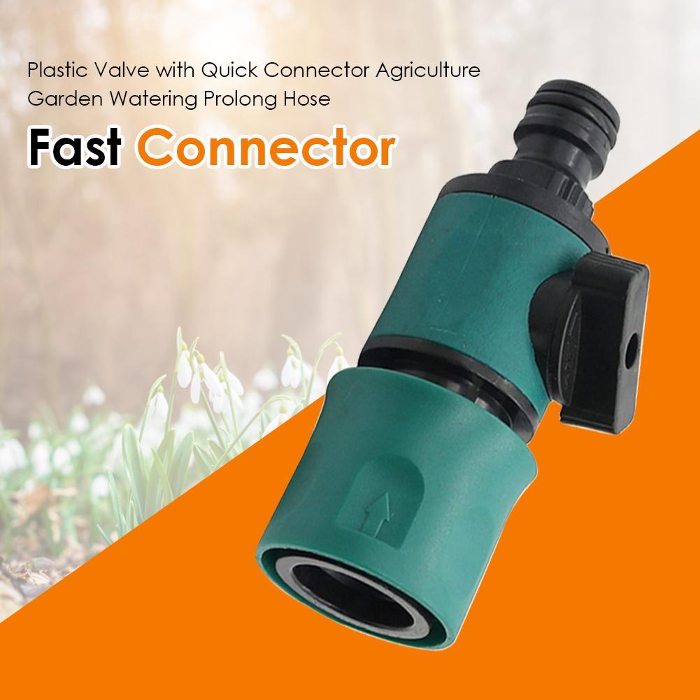 Manguera para jardín conectores de grifo adaptador de manguera para plantas de flores riego larga vida útil de 16 Mm conector rápido