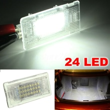 12V Car 24 LEDs Luggage Trunk Lid Light Glove Box Lamp For BMW E36 E38 E39 E46 E60 E61 E65 E66 E82 E88 E90 E91 E92 E93 F01 F02
