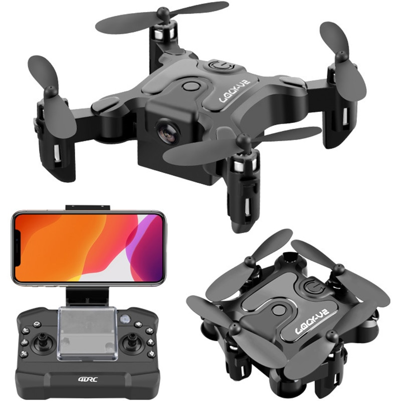 New Mini Drone Met/Zonder Hd Camera Follow Me Rc Helicopter Hight Hold Modus Rc Quadcopter Rtf Wifi Fpv RC Drone Toys For Kids wltoys v911s rc helicopter 2 4g 4ch 6 aixs stunt gyroscope flybarless rtf 3 7v 250mah rtf bnf model toys lipo battery rc airplan