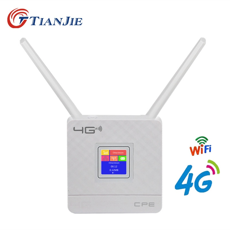 CPE903 LTE 3G 4G Router CAT4 mobile WiFi hotspot Router 4g sim card external antenna for IP Camera/Outside WiFi Coverage