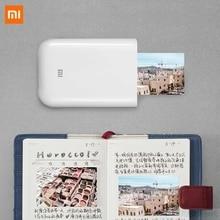 Xiaomi mijia AR Printer 300dpi Portable Photo Mini Pocket With DIY Share 500mAh picture printer pocket printer