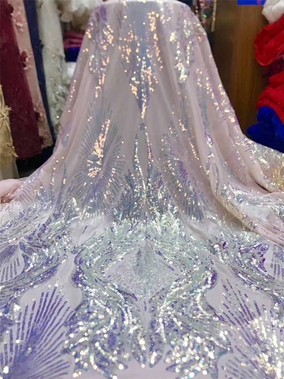 Lo último en tela de encaje de lentejuelas de Níger francés, tela de encaje 2020, tela de encaje africano de alta calidad, vestido de novia J36671