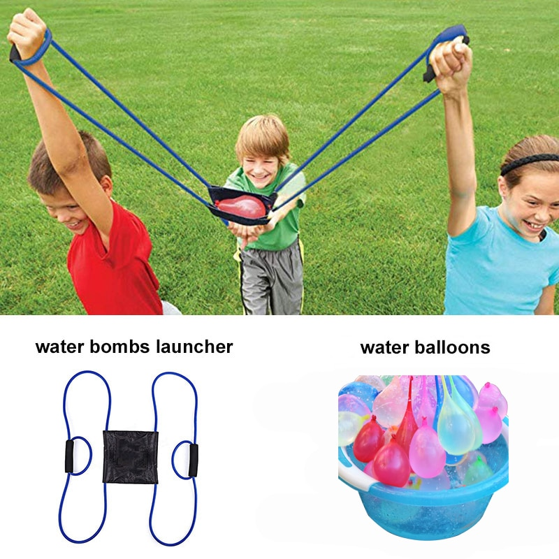 222 шт. волшебные шары для воды, пусковая установка, водяные бомбы, плавательный бассейн, пляжные игрушки для детей, воздушный шар, пусковые ус...