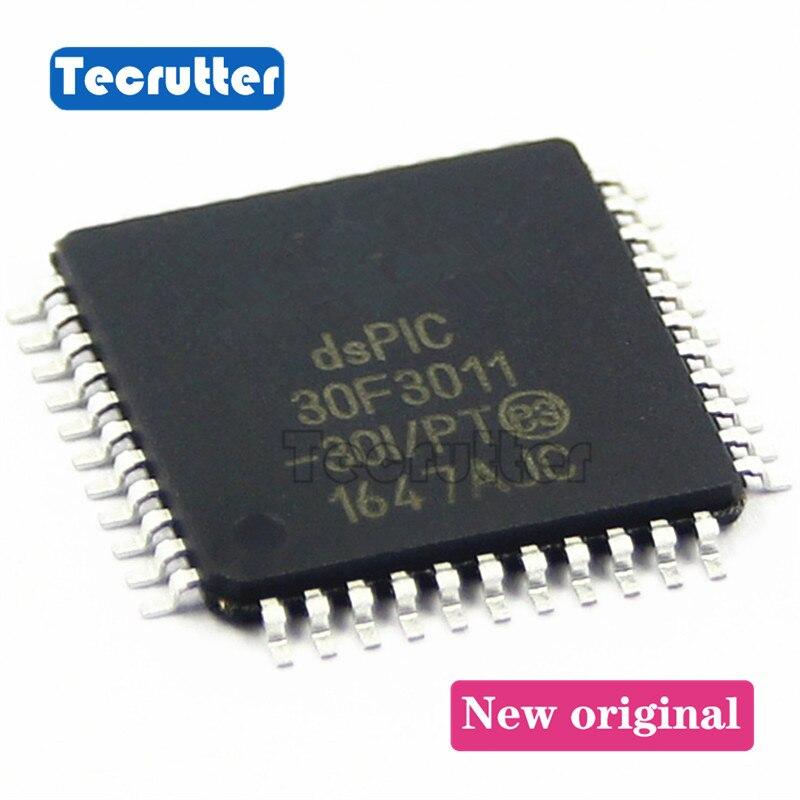 10PCS DSPIC30F3011-30I/PT MCU 16BIT 24KB FLASH TQFP44 PIC30F3011