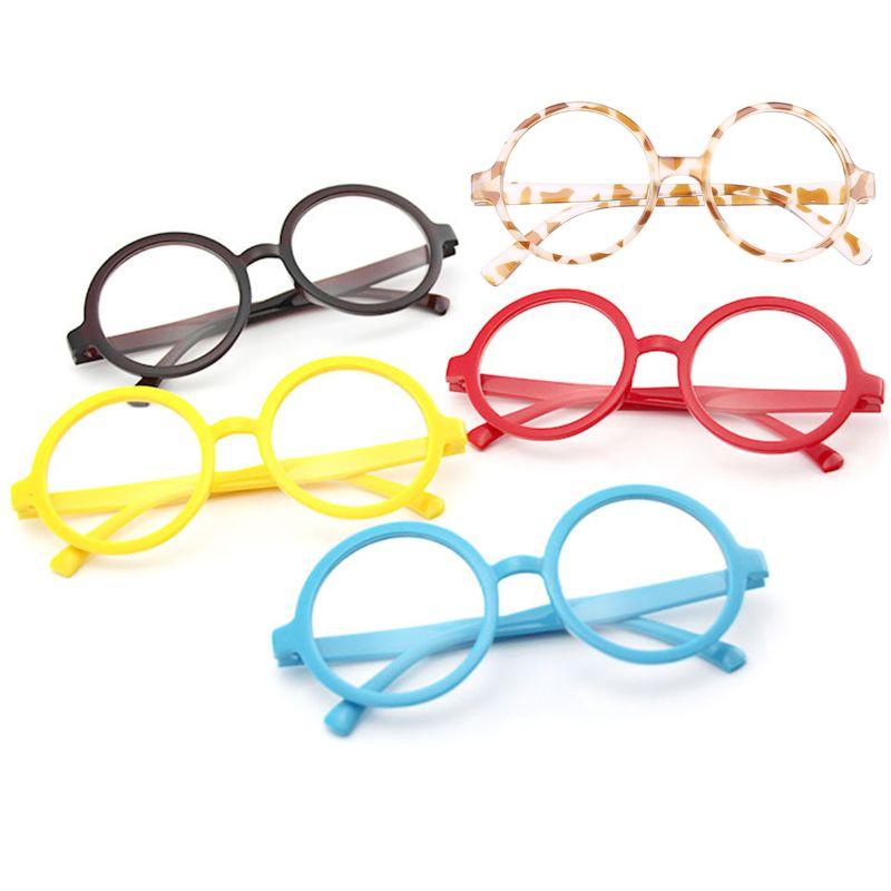 Gafas con montura redonda de calidad Star Power HP Men Wizard, negro, talla única (2 pulgadas lente GXMB