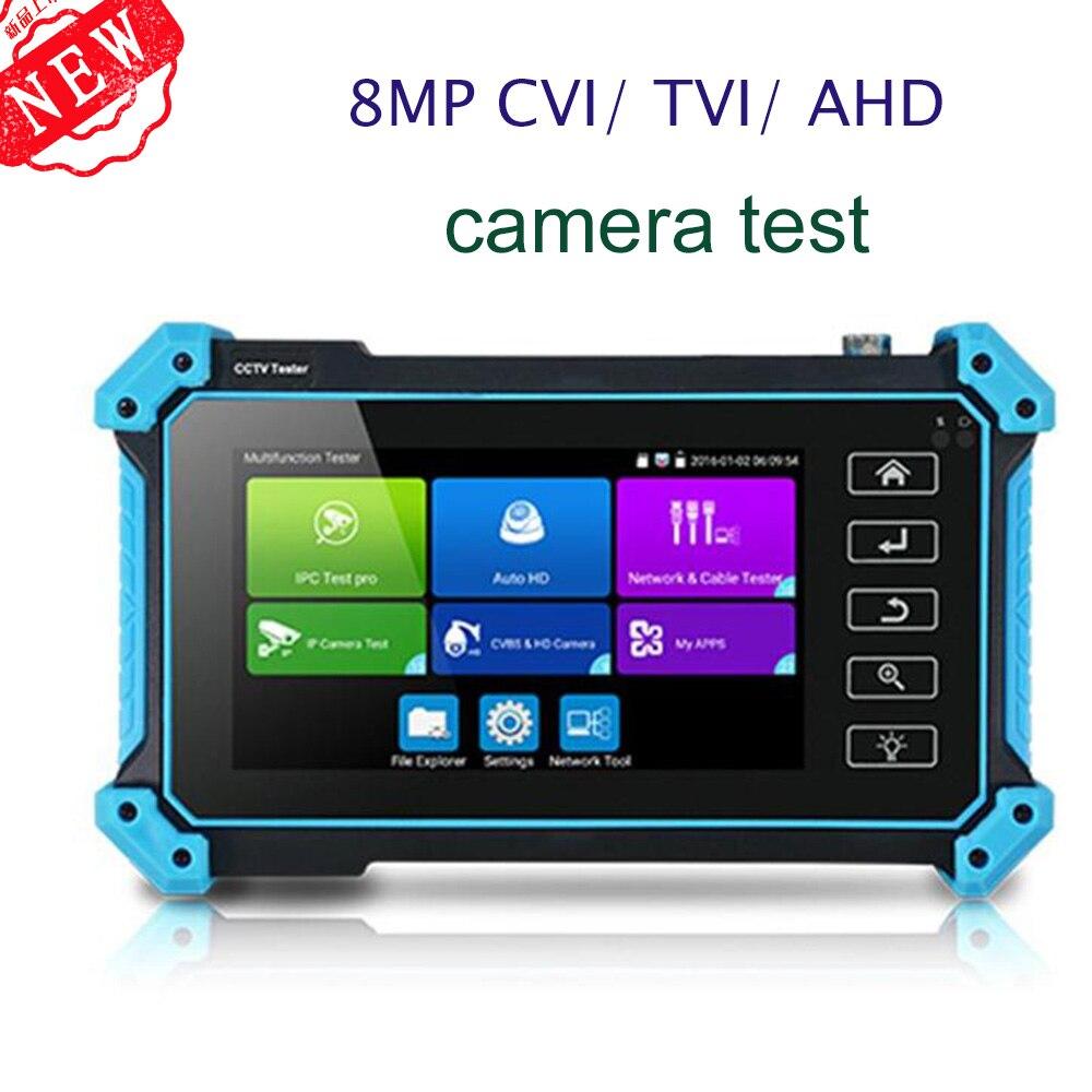 Honyde nuevo 5 pulgadas IP HD CÁMARA DE CCTV de Monitor IPC5200 AHD CVBS CVI TVI 8MP cámara de HDMI VGA entrada WIFI POE PTZ