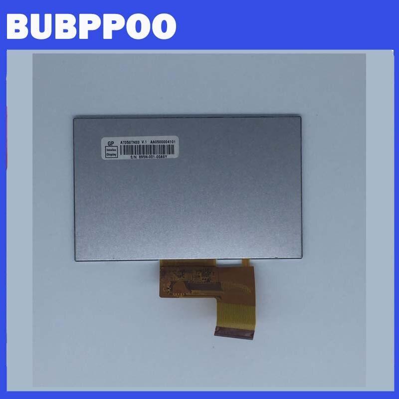 Darmowa wysyłka 100% oryginalny 5 Cal AT050TN33 V1 V.1 32000579-02 lcd z ekranem dotykowym dla GPS