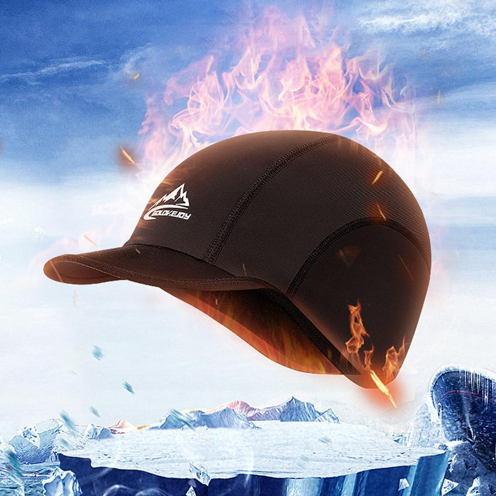 Windproof waterproof Thermal Cycling Helmet Hat Running Riding Hiking Ski MTB Bike Motorcyc Hat Warm Biking Winter Sport Caps