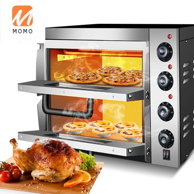 فرن بيتزا كهربائي متعدد الوظائف 3KW/مقلاة بيتزا/جهاز صُنع فطائر البيتزا