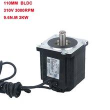 LK110BL23031 factory price 110 series High torque bldc motor 310v 3000w 3 phase brushless dc motor 9.6N.m 3000rpm