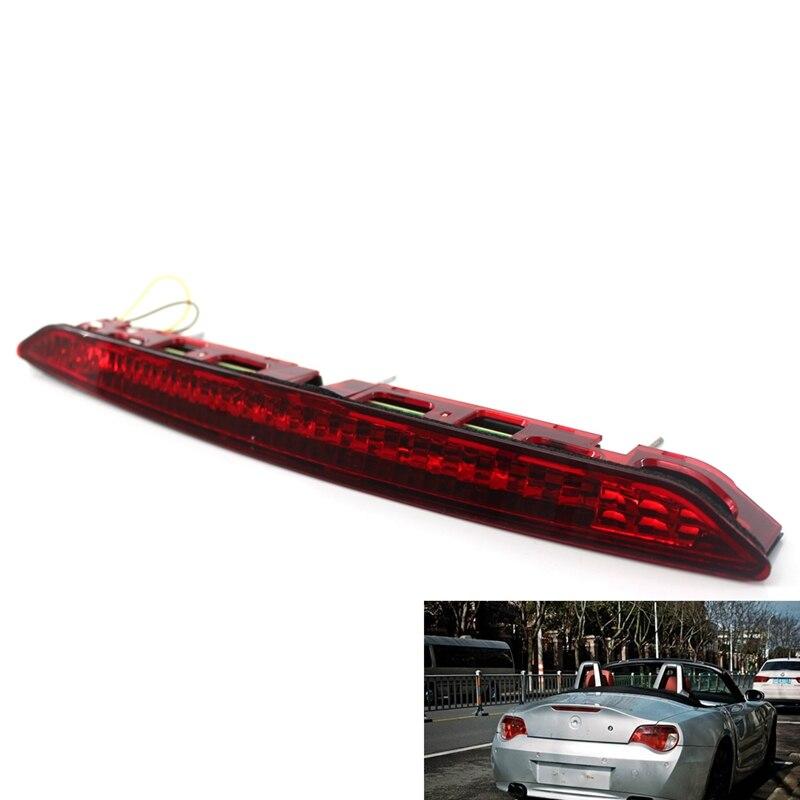 Apto para 2002-2008 E85 Z4 luz de freno Third luz de freno Color rojo lámpara 63256917378