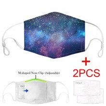 3PCS Adult facemask mascherine Carbon Insert Windproof Dust-Resistant Unisex Mouth masque Adjustable