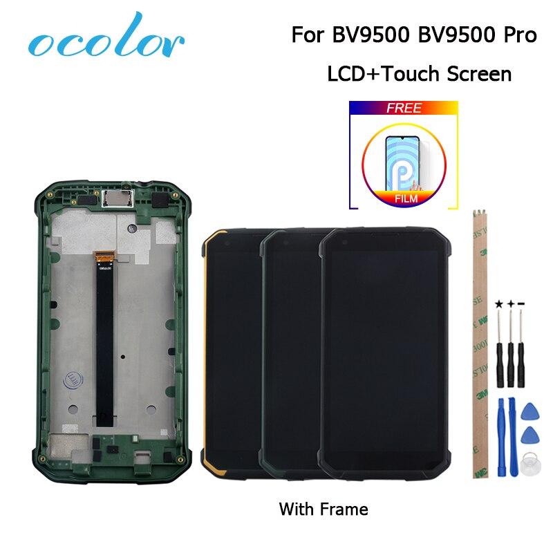 Ocolor для Blackview BV9500 ЖК-дисплей и сенсорный экран с заменой рамки + Инструменты + пленка для Blackview BV9500 Pro 5,7''