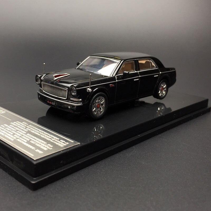 XCarToys 1:64 2009 China HONGQI L5 Black Diecast Model Car