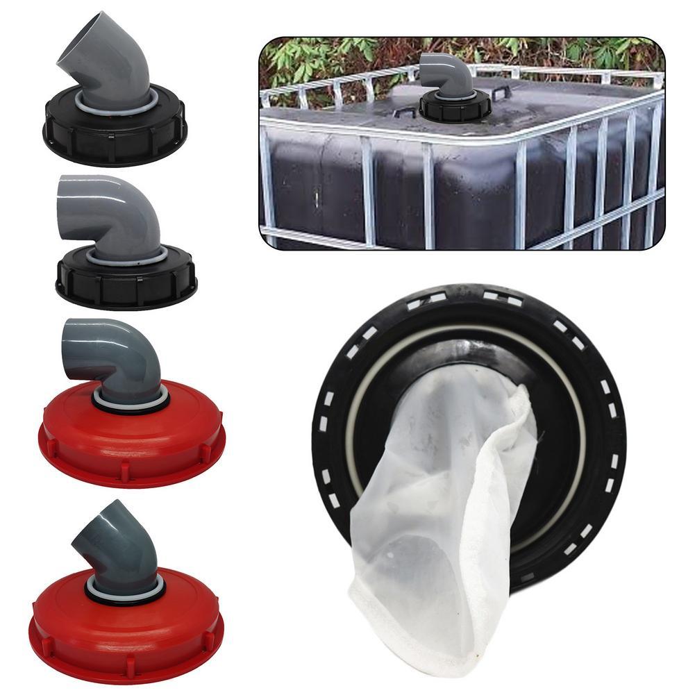 Açık bahçe IBC Ton varil kapağı dayanıklı plastik kapak havalandırma deliği ile Ton varil filtre kapağı