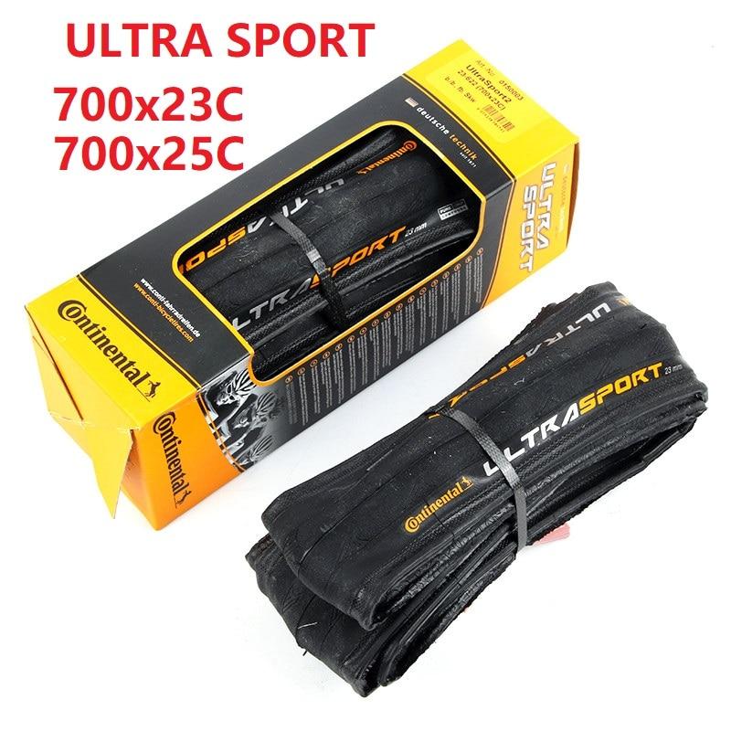 Straße Fahrrad Reifen Original Ultra Sport2 700 * 23C 700 * 25C Folding Reifen ULTRA SPORT 700*23mm 700*25mm Continental