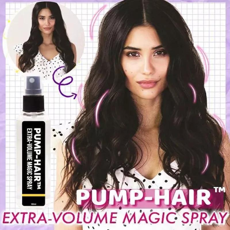 Bomba-Hair-pulverizador de volumen Extra para voluminar el cabello, Gel de estilismo para...