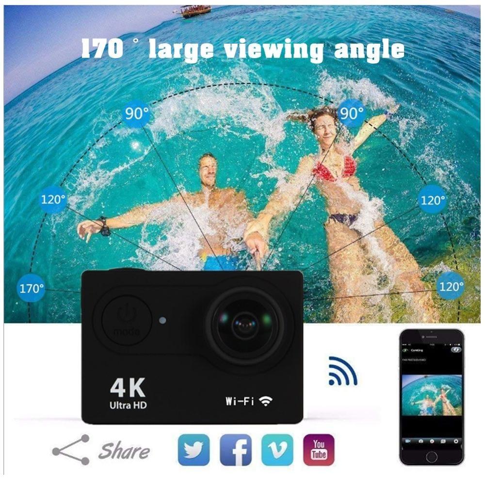 "Original H9/H9R Travelling Camera 1080p/60fps 20MP WiFi 2.0"" Ultra HD 4K Mini Helmet Waterproof Cam DV Life Recording Cameras enlarge"