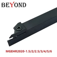 beyond mgehr2020 2 lathe cutter grooving turning tool holder mgehr boring bar mgehr2020 3 carbide inserts cnc mgehr2020 mgmn200