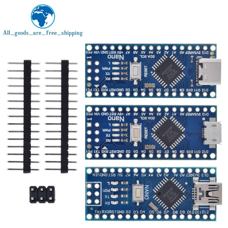 Type-C USB Nano 3.0 With the bootloader compatible Nano 3.0 controller for arduino CH340 USB driver 16Mhz Original IC ATMEGA328P