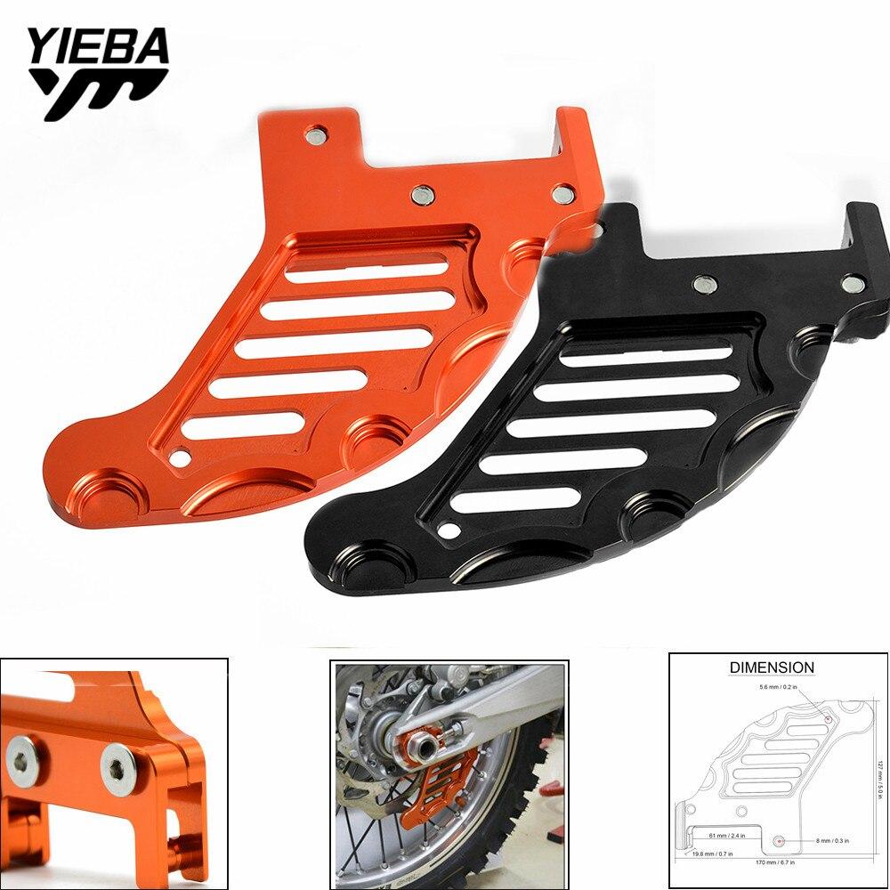 Для KTM SX XC XCW SXF SX-F EXC EXC-F XCF-W 125/150/200/250/300/350/400/450/500/525 Защита Крышки заднего диска ротора защита тормозов