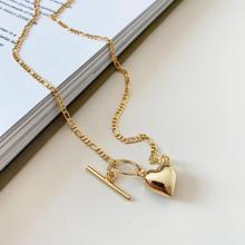 Amaiyllis 925 srebro serce naszyjnik na obojczyk proste moda złote miłość Choler naszyjnik dla kobiet biżuteria Collares