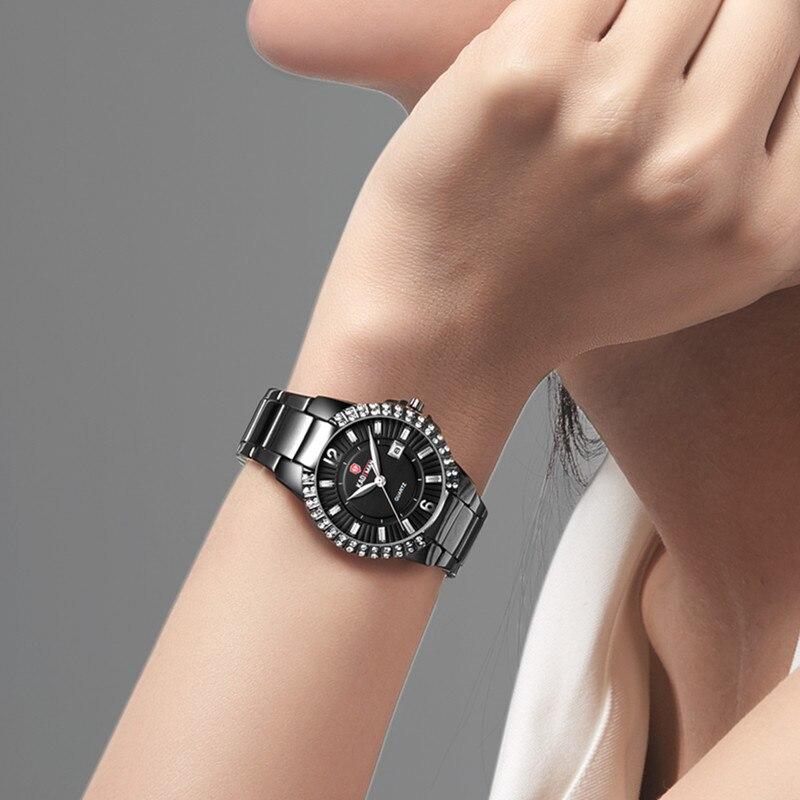 KADEMAN Watches Women Fashion 2020 Designer Ladies Top Luxury Brand Diamond Quartz Wristwatch Gifts For Women 30ATM Waterproof enlarge