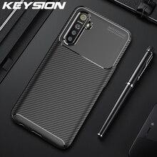 KEYSION Shockproof Case for Realme X2 Pro XT 3 5 Pro Q C2 X50 Phone Cover for OPPO A91 A31 A8 A5 A9 2020 F15 Reno 3 3 Pro 2 2Z